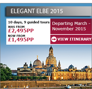 Elegant Elbe - Now from £1,495pp >