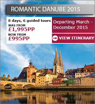 Romantic Danube - Now from only £995pp