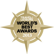Travel + Leisure World�s Best 2013