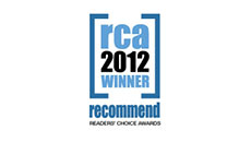Recommend Readers� Choice Award 2012