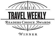 Travel Weekly Readers� Choice Award 2013