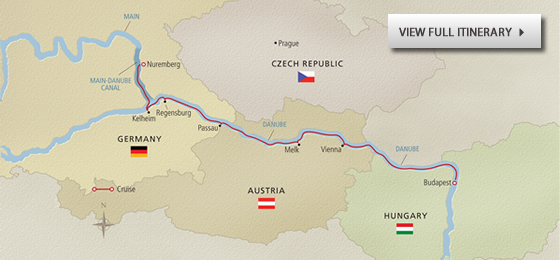 Romantic Danube - Map