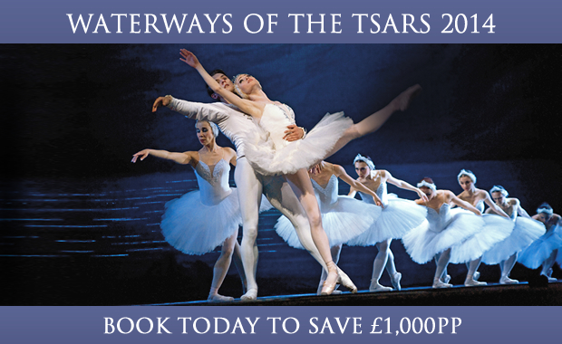 Waterways of the Tsars 2014 - Book today and save £1,000pp